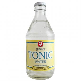 9 Springe Tonic Water 0,33 Liter incl. Pfand