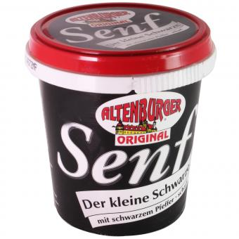 Altenburger Senf Der kleine Schwarze 200 ml