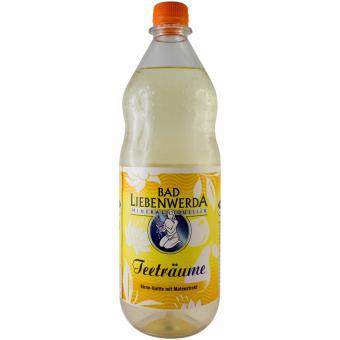 Bad Liebenwerda Teeträume Birne-Quitte mit Mateextrakt 1 Liter incl. Pfand