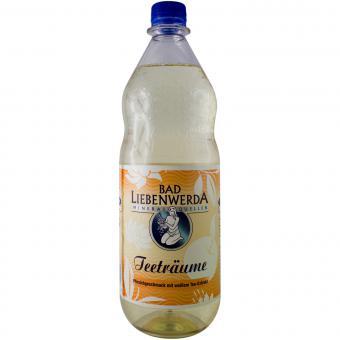 Bad Liebenwerda Pfirsichgeschmack mit weißem Tee-Extrakt 1 Liter incl. Pfand