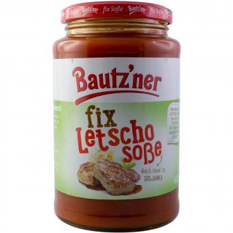 Bautzner fix Letschosoße 400 ml