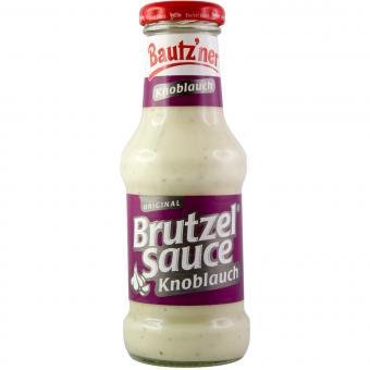 Bautzner Brutzel Sauce Knoblauch 250ml