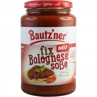 Bautzner fix Bolognese Soße 410 g