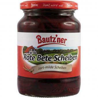 Bautzner Rote Bete Scheiben 370ml