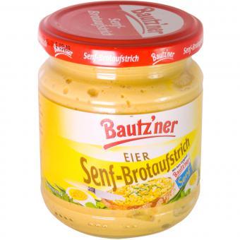 Bautzner Senf-Brotaufstrich Eier 200 ml