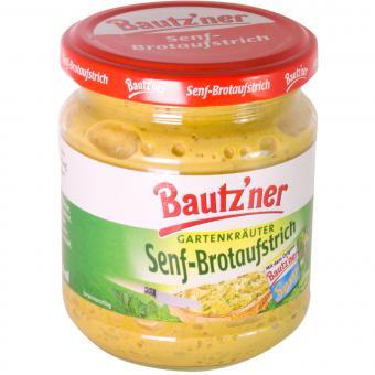 Bautzner Senf-Brotaufstrich Gartenkräuter 200 ml