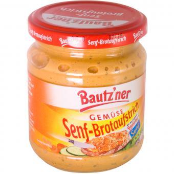 Bautzner Senf-Brotaufstrich Gemüse 200 ml