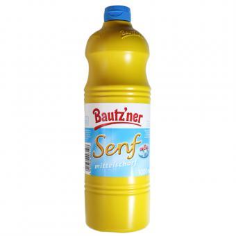 Bautzner Senf mittelscharf 1000ml