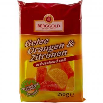 Berggold Gelee Orangen & Zitronen 250g