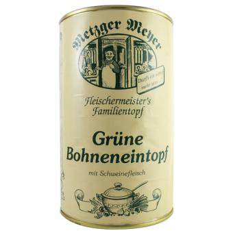 BWF Metzger Meyer Grüne Bohneneintopf 1160g-Dose