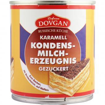 Dovgan Gezuckertes Kondensmilch Erzeugnis Karamell 397g