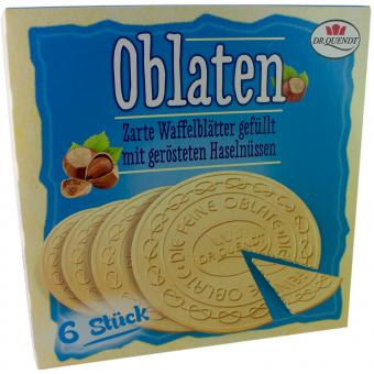 Dr. Quendt Oblaten Haselnuss 150 g