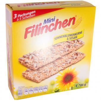 Filinchen Mini Sonnenblumenkerne & Sesam 84g