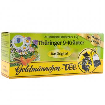 Goldmännchen Thüringer 9-Kräuter 25x1,5g