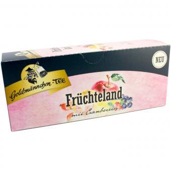 Goldmännchen Tee Früchteland mit Cranberries 25x2,25g