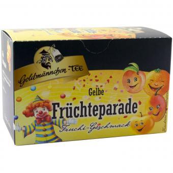 Goldmännchen Tee Gelbe Früchteparade 20x2,5g