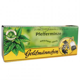 Goldmännchen Tee Pfefferminze 25x1,8g