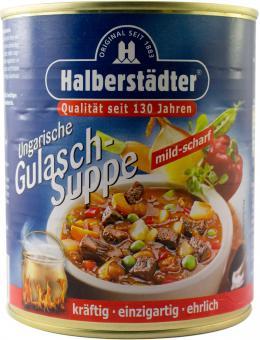 Halberstädter ungarische Gulasch-Suppe 800g