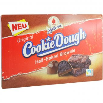 Halloren Original Cookie Dough Half-Baked Brownie 150g