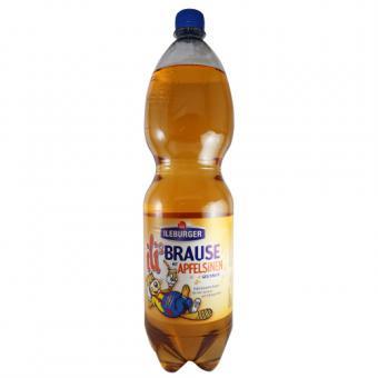 Ileburger Sachsenquelle Ilis Brause mit Apfelsinen Geschmack 1,5 Liter incl. Pfand