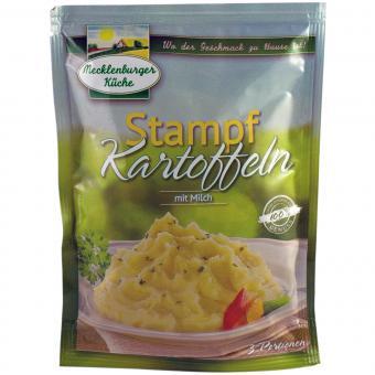 Mecklenburger Küche Stampf-Kartoffeln mit Milch