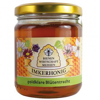 Bienenwirtschaft Meißen goldklare Blütentracht 250g