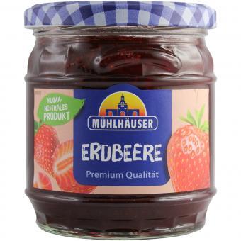 Mühlhäuser Erdbeere Extra-Konfitüre 450g