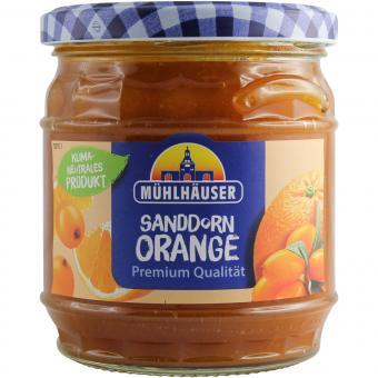 Mühlhäuser Sanddorn Orange Marmelade Extra-Konfitüre 450g