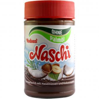 Nudossi Naschi ohne Palmöl 300 g