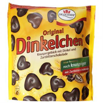 Dr. Quendt Original Dinkelchen Zartbitterschokolade 85 g