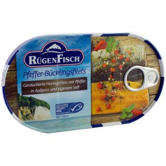 RügenFisch Pfeffer-Bücklingsfilet 200g
