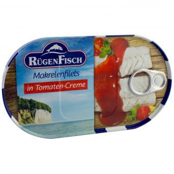 RügenFisch Makrelenfilets in Tomaten-Creme 200g