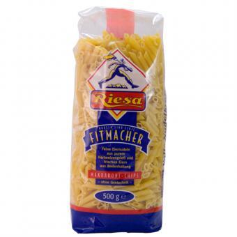 Riesa Fitmacher Makkaroni-Chips 500g