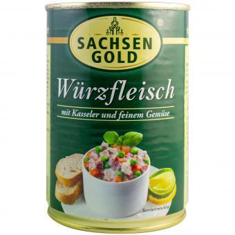 Sachsen Gold Würzfleisch 400g