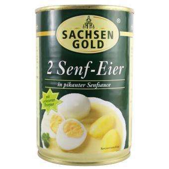 Sachsen Gold 2 Senf-Eier 400g