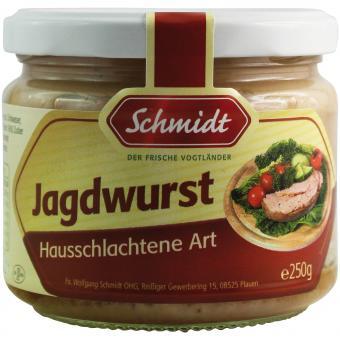 Schmidt Jagdwurst Hausschlachtene Art 250g