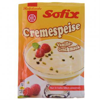 Sofix Cremespeise Vanille-Geschmack
