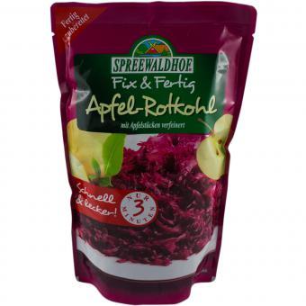 Spreewaldhof Apfel-Rotkohl 400g