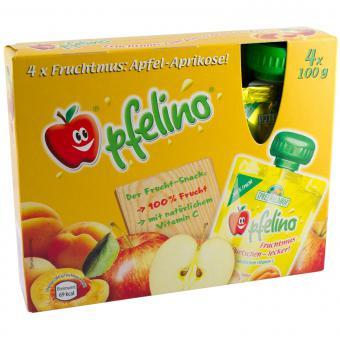 Spreewaldhof Apfelino Fruchtmus Apfel-Aprikose 400 g