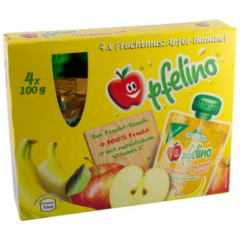 Spreewaldhof Apfelino Fruchtmus Apfel-Banane 400 g