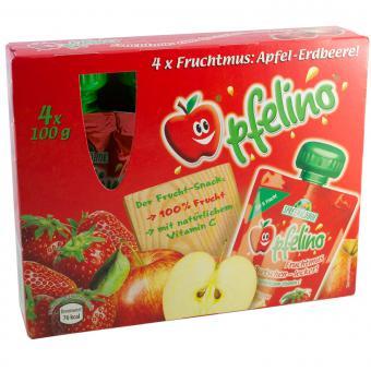 Spreewaldhof Apfelino Fruchtmus Apfel-Erdbeere 400 g