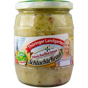 Thüringer Landgarten SchlachteKraut mit original Heichelheimer Kloßmasse 580ml-Glas