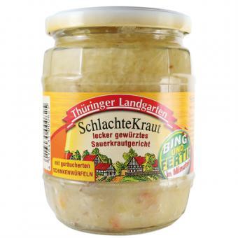 Thüringer Landgarten SchlachteKraut 580ml-Glas