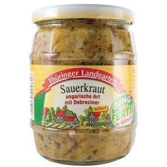 Thüringer Landgarten Sauerkraut 580ml-Glas