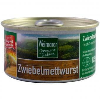Weimarer Zwiebelmettwurst 125g