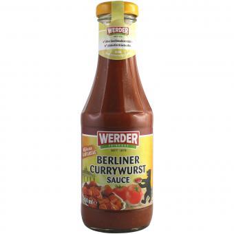 Werder Berliner Currywurst Sauce 450 ml