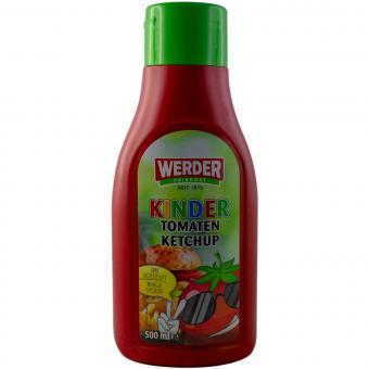 Werder Kinder Tomaten Ketchup 500 ml