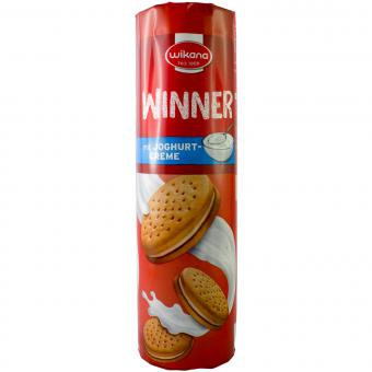 Wikana Winner mit Joghurtcreme 300g