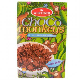 Wurzener ChoCo Monkeys 375 g