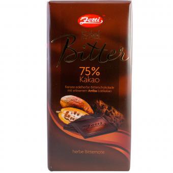 Zetti Edel Bitter 75% Kakao 100g